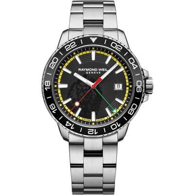 Raymond Weil X House Of Marley Tango 300 Marley Limited Edition Bracelet Watch, 42Mm