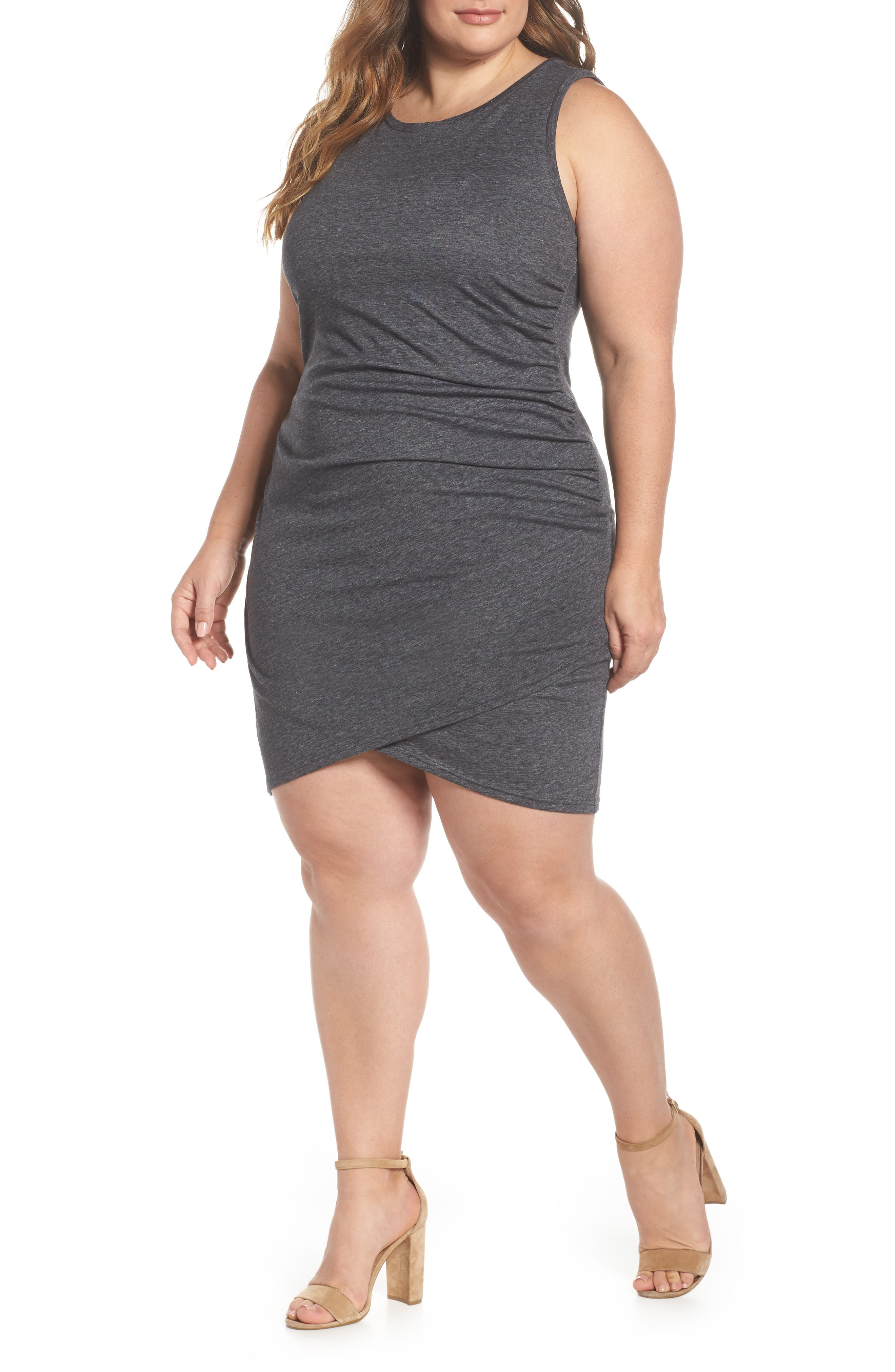 Plus Size Leith Ruched Sheath Dress