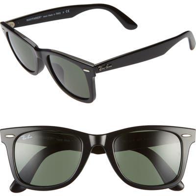 Ray-Ban 52Mm Square Sunglasses - Black