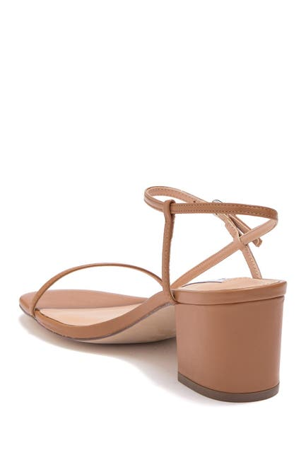 Image of Steve Madden Idea Leather Block Heel Sandal