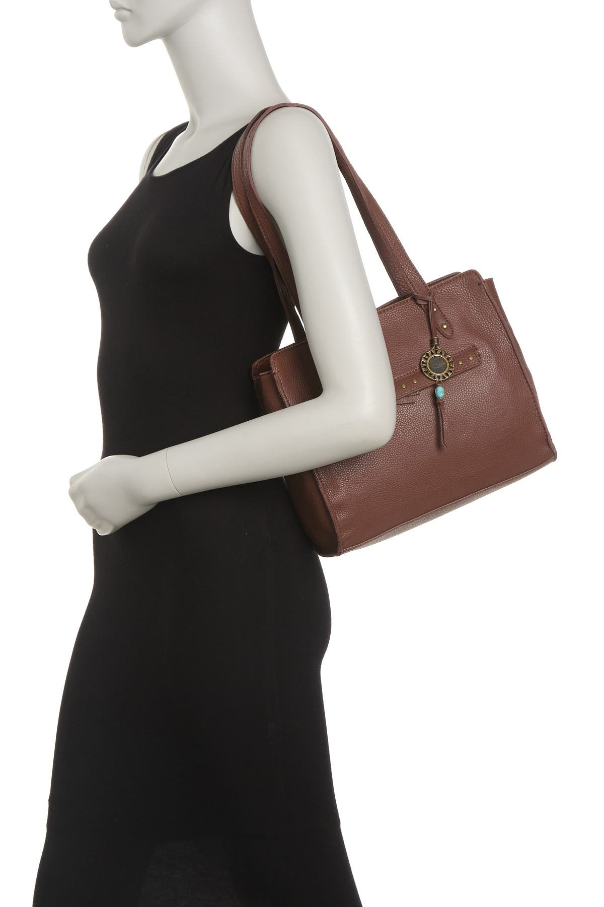 Image of THE SAK COLLECTIVE Alma Leather Satchel