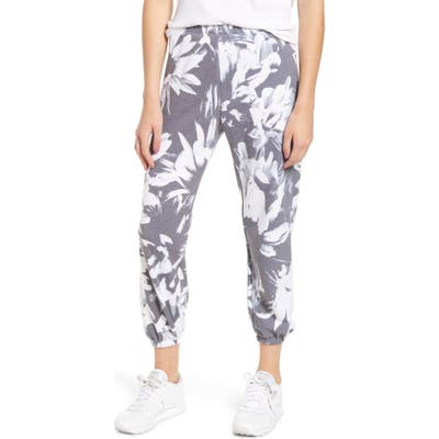 Wildfox Easy Optic Daisies Sweatpants, Blue