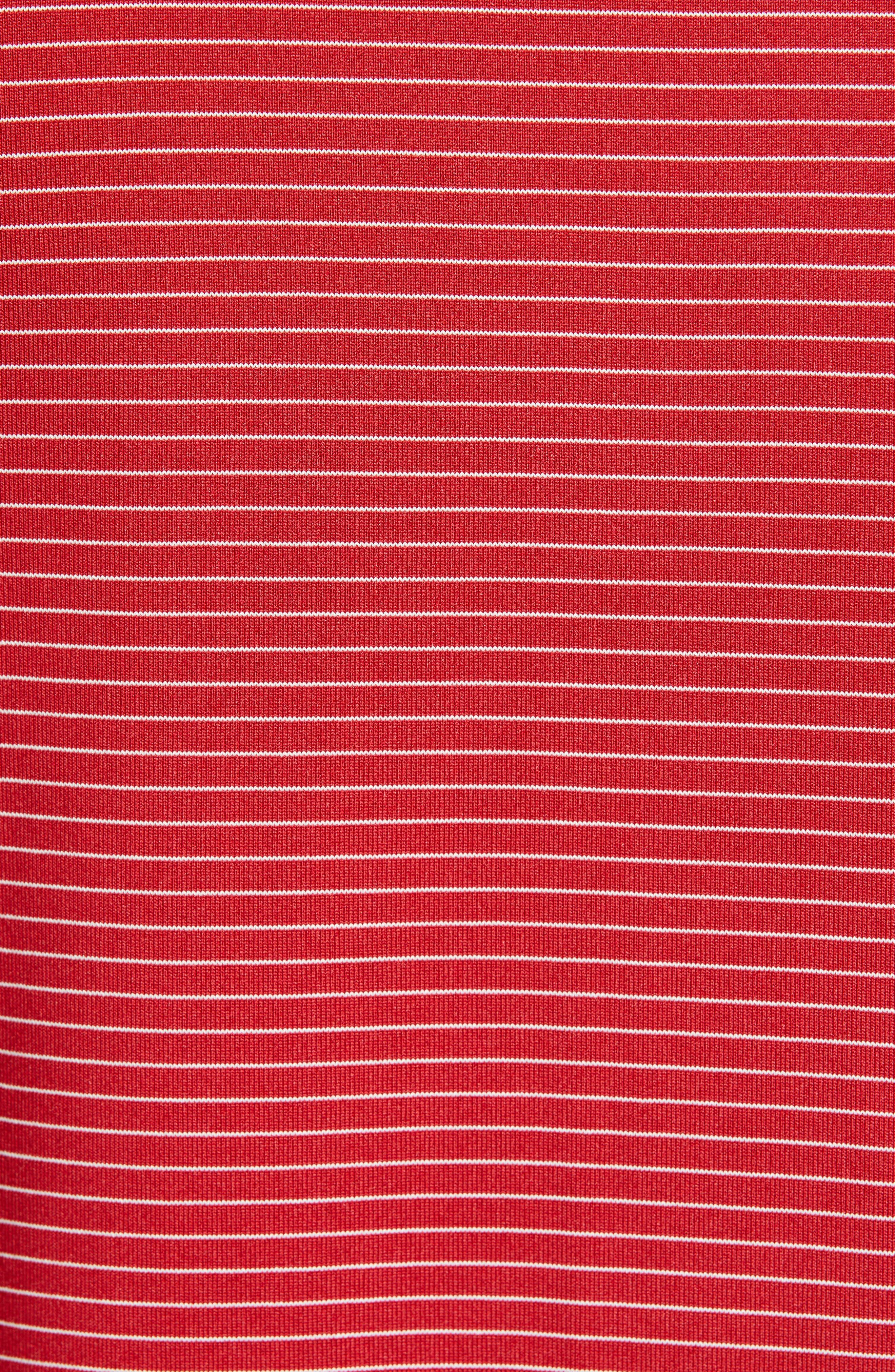 ,                             Forge Classic Fit Pencil Stripe Polo,                             Alternate thumbnail 35, color,                             613