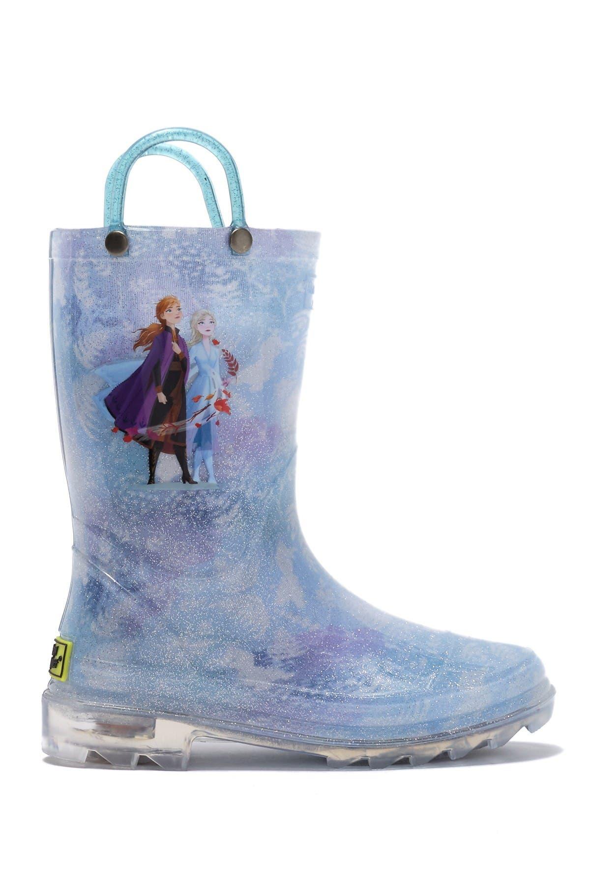 Western Chief Frozen Northern Myth Light Up Rain Boot