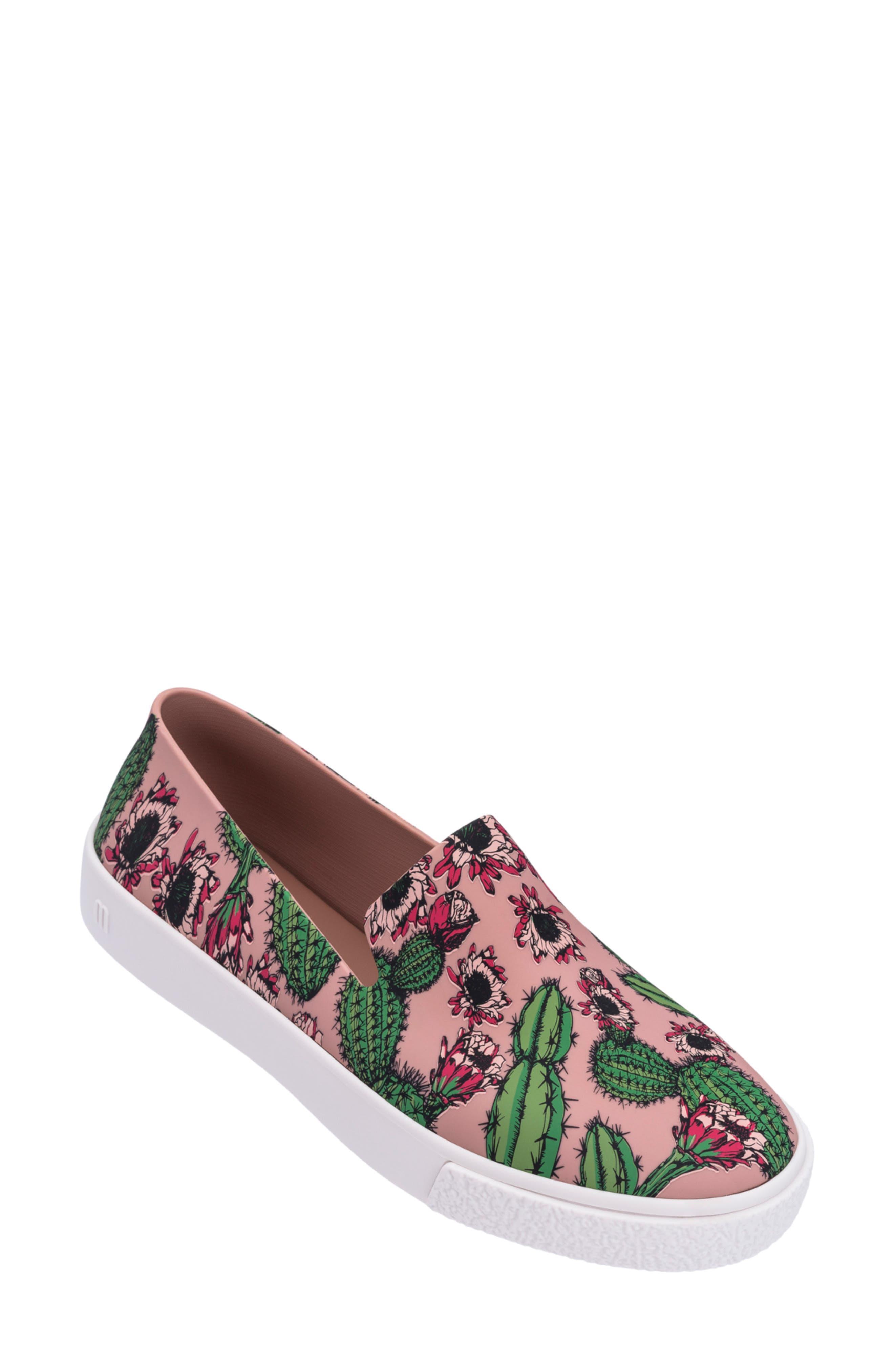 Melissa Ground Iii Slip-On Sneaker, Pink