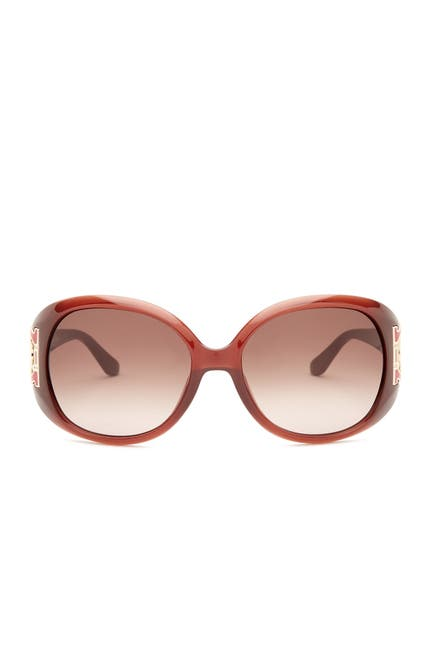Image of Salvatore Ferragamo 57mm Oversized Sunglasses
