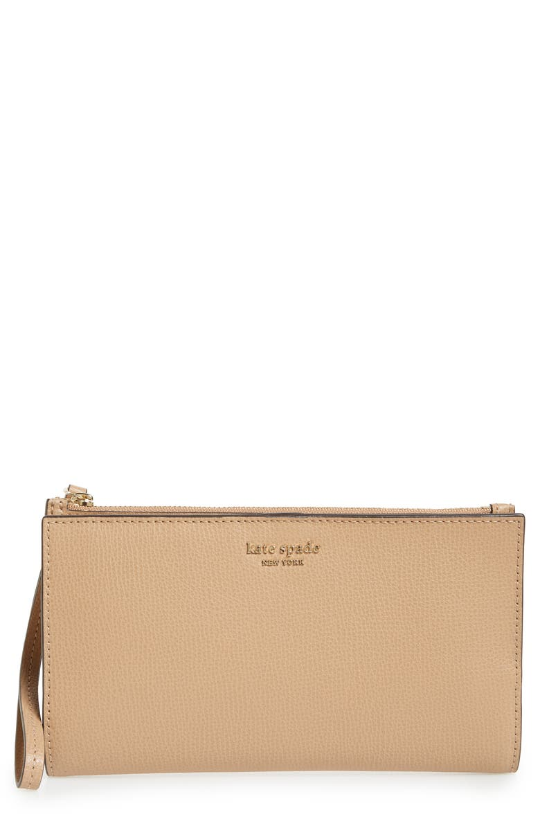 KATE SPADE NEW YORK large sylvia leather wristlet 原價港幣1157.61 優惠價694.57