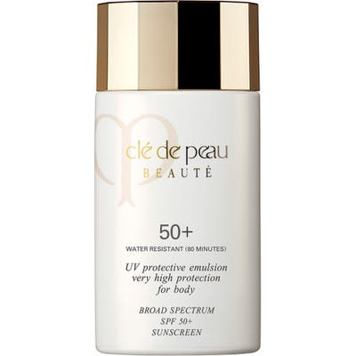 Cle De Peau Beaute Uv Protective Emulsion Very High Protection For Body Broad Spectrum Spf 50+ Sunscreen