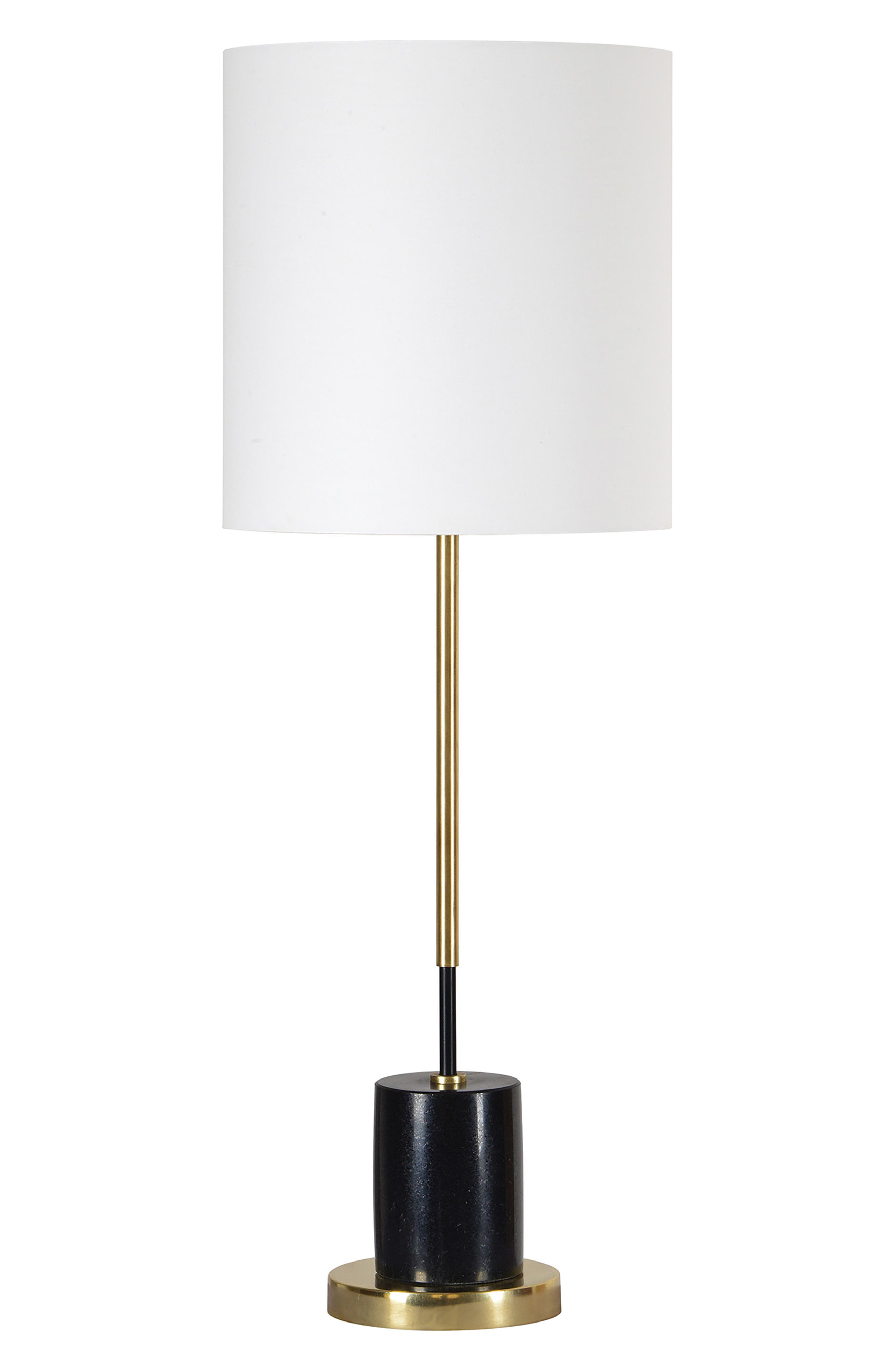 Renwil Dunson Table Lamp Size One Size  Black