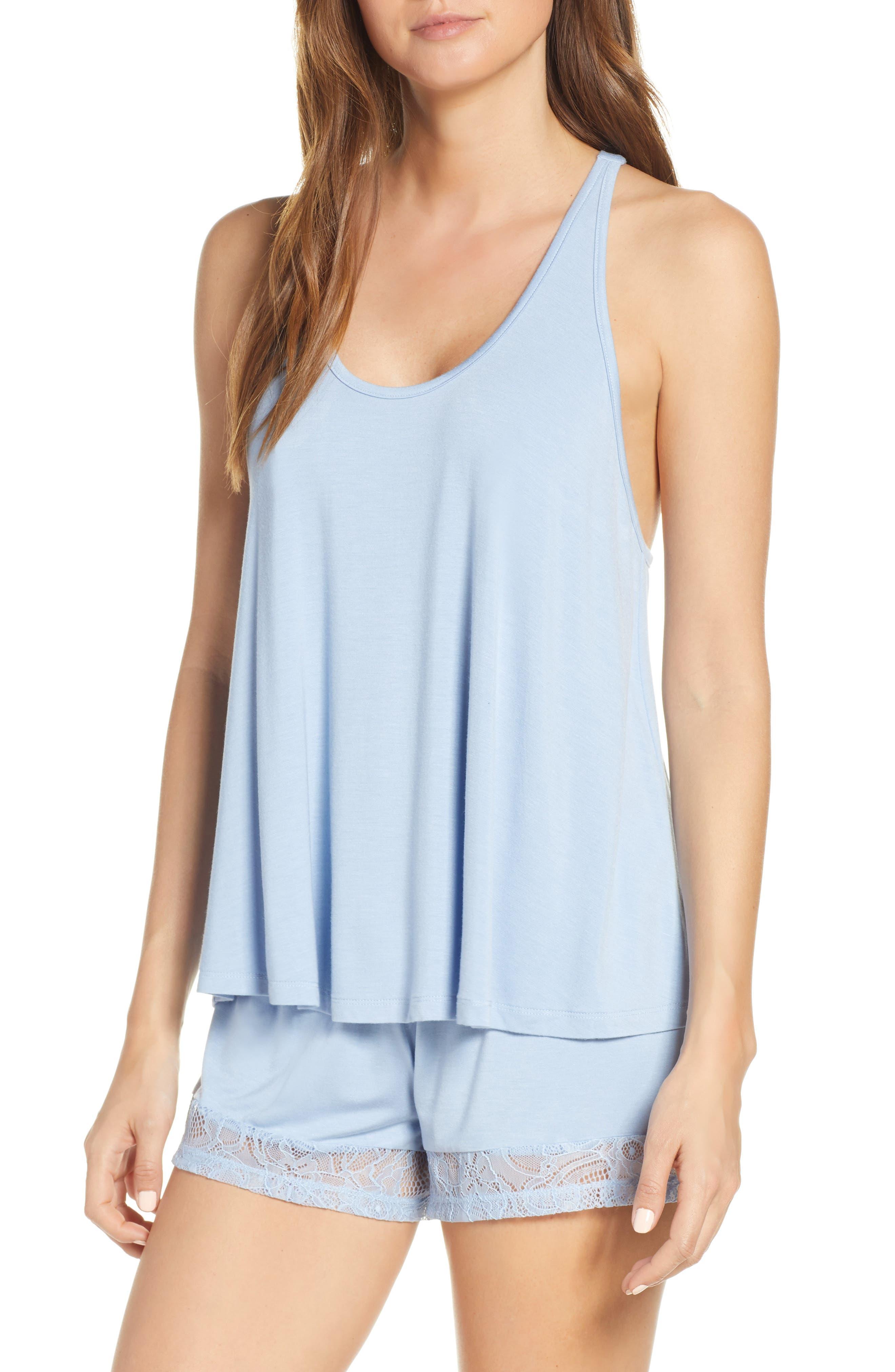 Flora Nikrooz Stephanie Short Pajamas, Blue