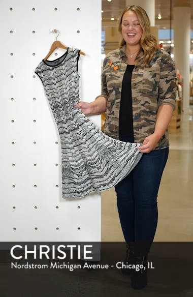 Pattern Sweater Dress, sales video thumbnail
