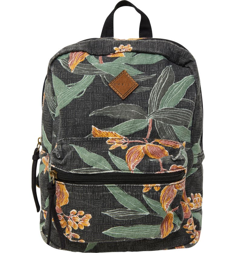 O'NEILL Valley Mini Canvas Backpack, Main, color, BLACK