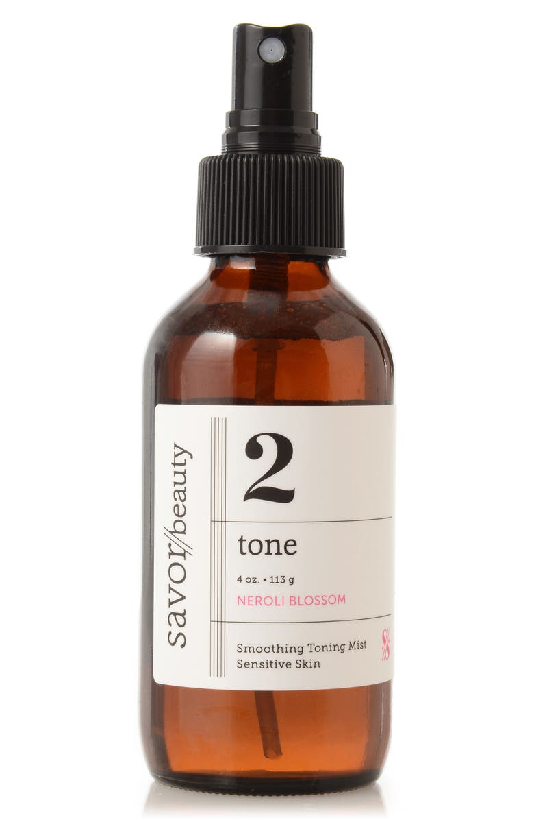 SAVOR BEAUTY Tone Neroli Blossom Smoothing Toning Mist, Main, color, NO COLOR