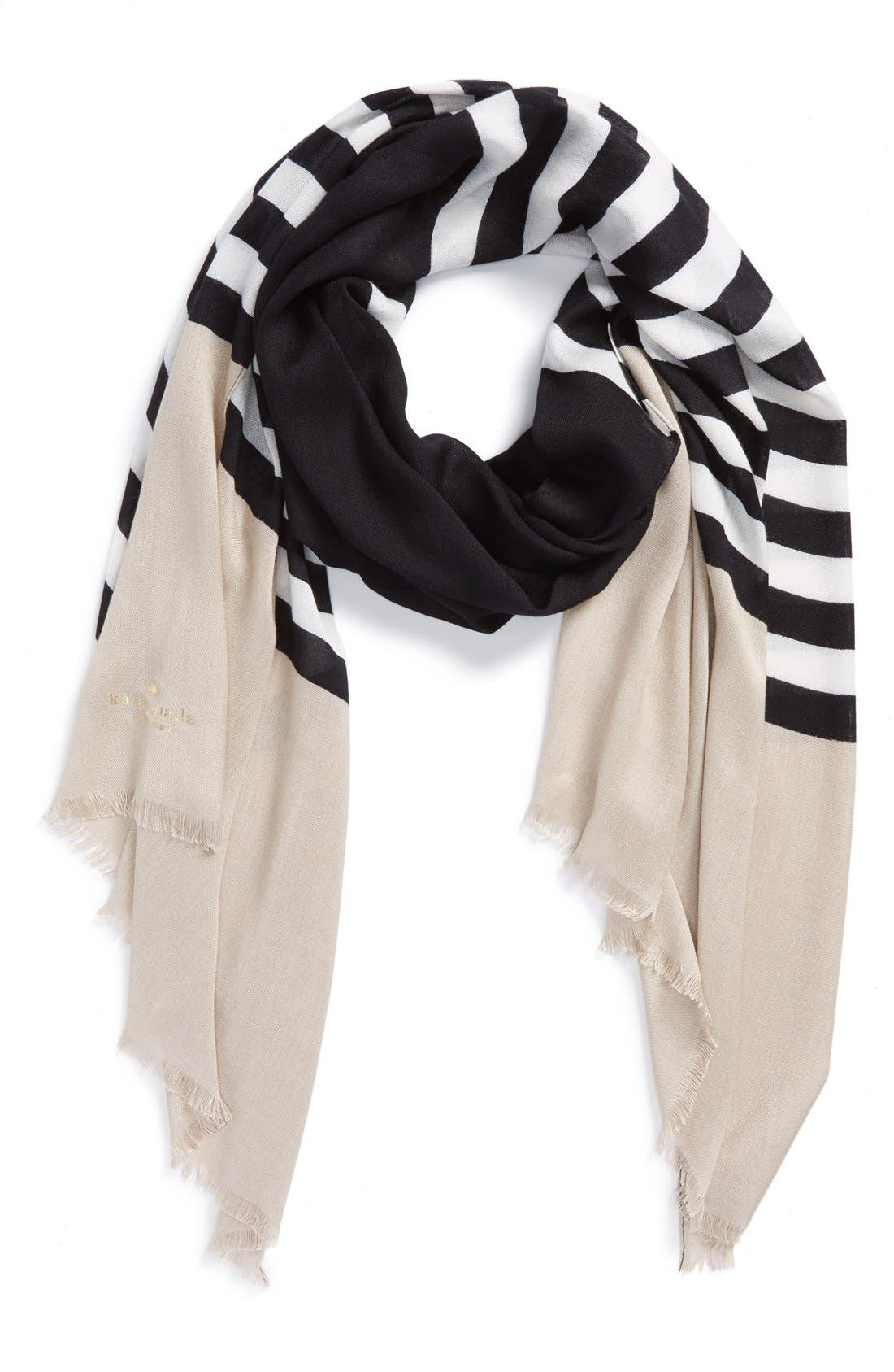 'six month stripe' scarf, Main, color, 250