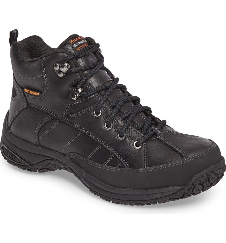 DUNHAM Lawrence Waterproof Boot, Main, color, BLACK