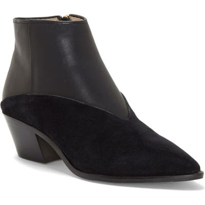 Louise Et Cie Vada Pointy Toe Bootie- Black