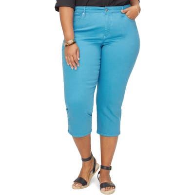 Plus Size Nydj Capri Skinny Jeans, Blue