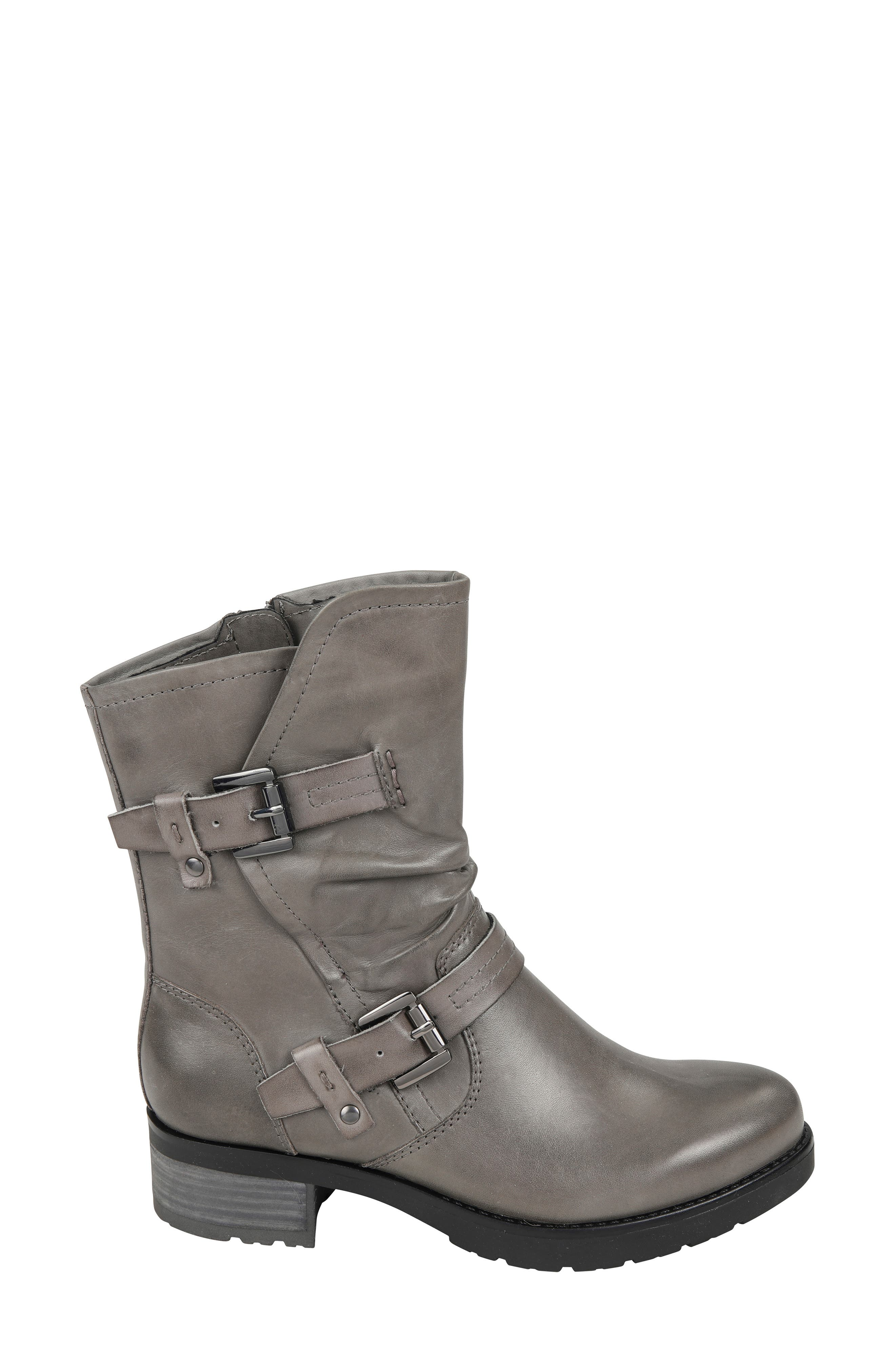 ,                             Talus Boot,                             Alternate thumbnail 3, color,                             GREY LEATHER