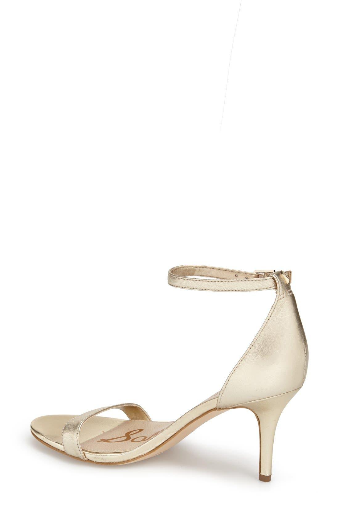 ,                             'Patti' Ankle Strap Sandal,                             Alternate thumbnail 209, color,                             900