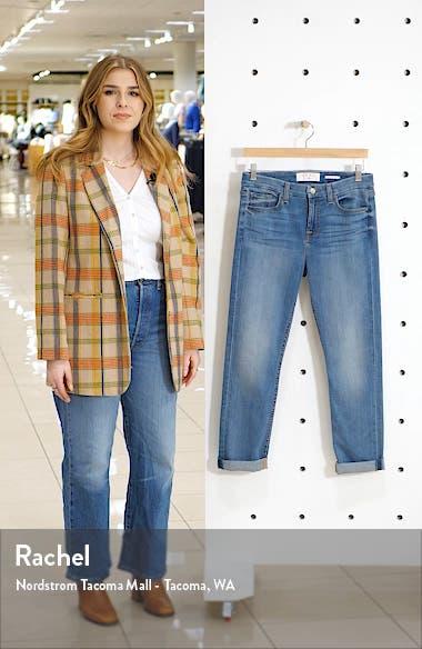 High Waist Crop Straight Leg Jeans, sales video thumbnail