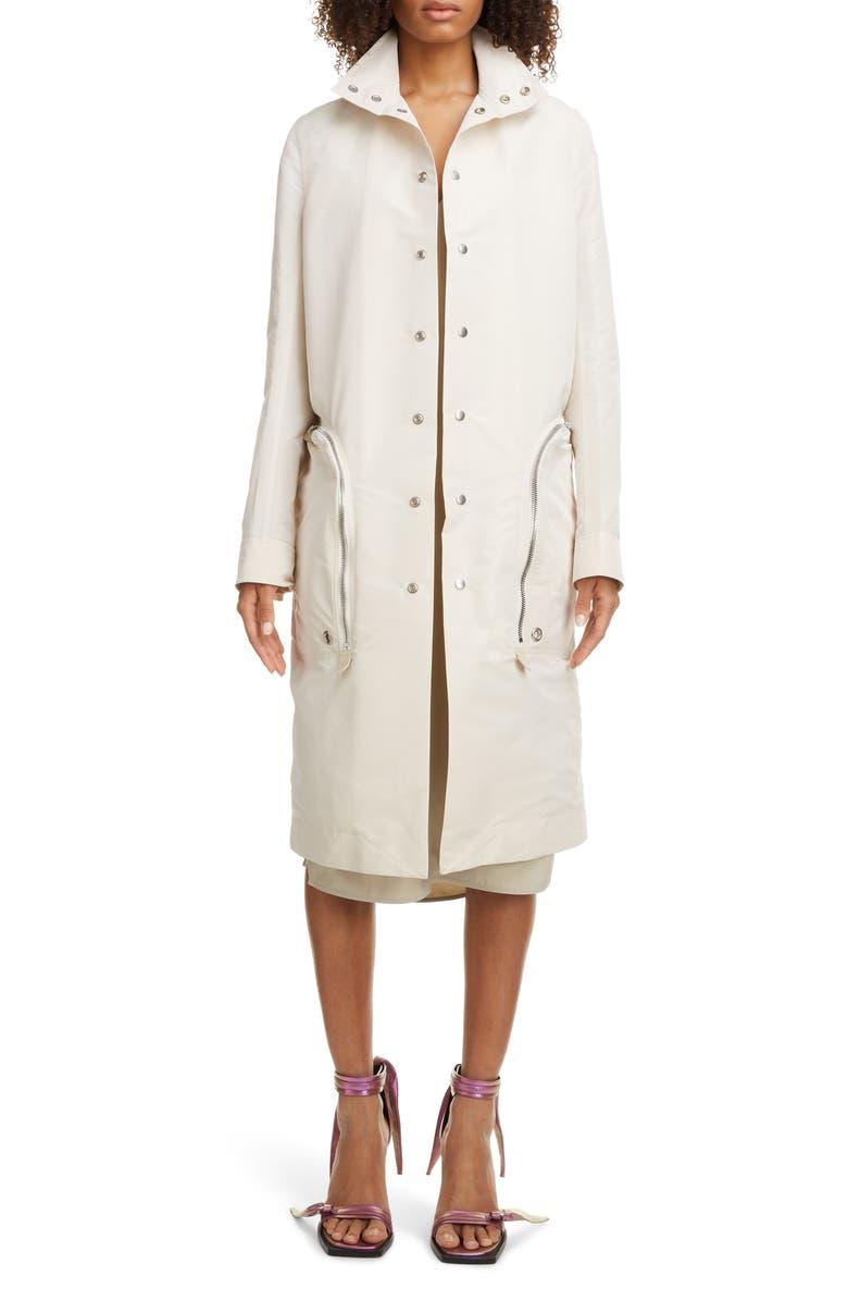 RICK OWENS Water Resistant Taffeta Jacket, Main, color, 54 CHAMP