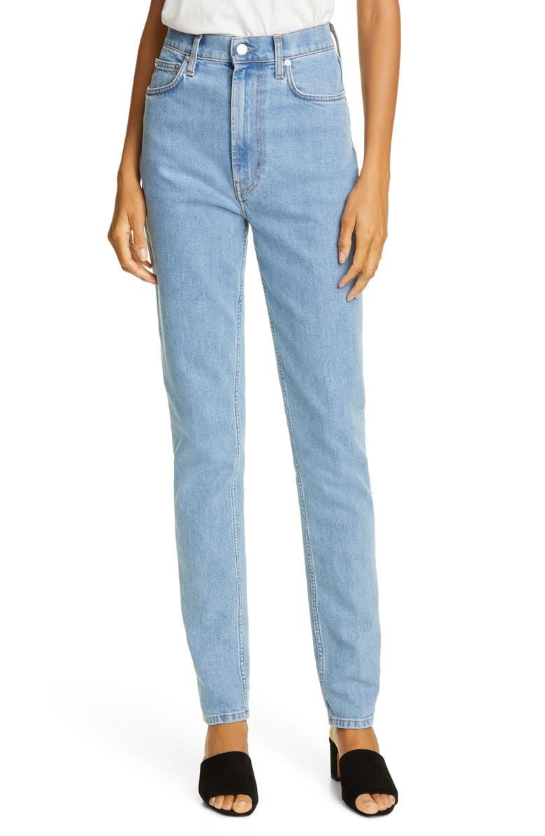 HELMUT LANG Femme High Waist Jeans, Main, color, 497