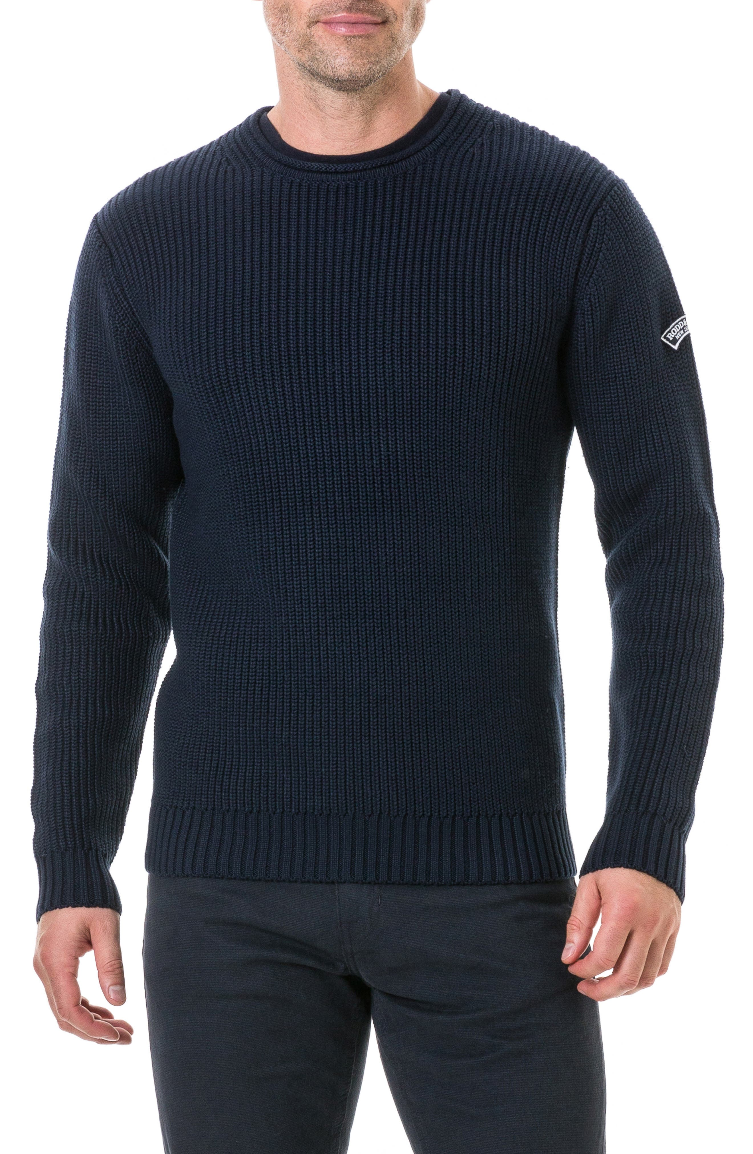 Image of RODD AND GUNN Casnell Island Knit Regular Fit Sweater