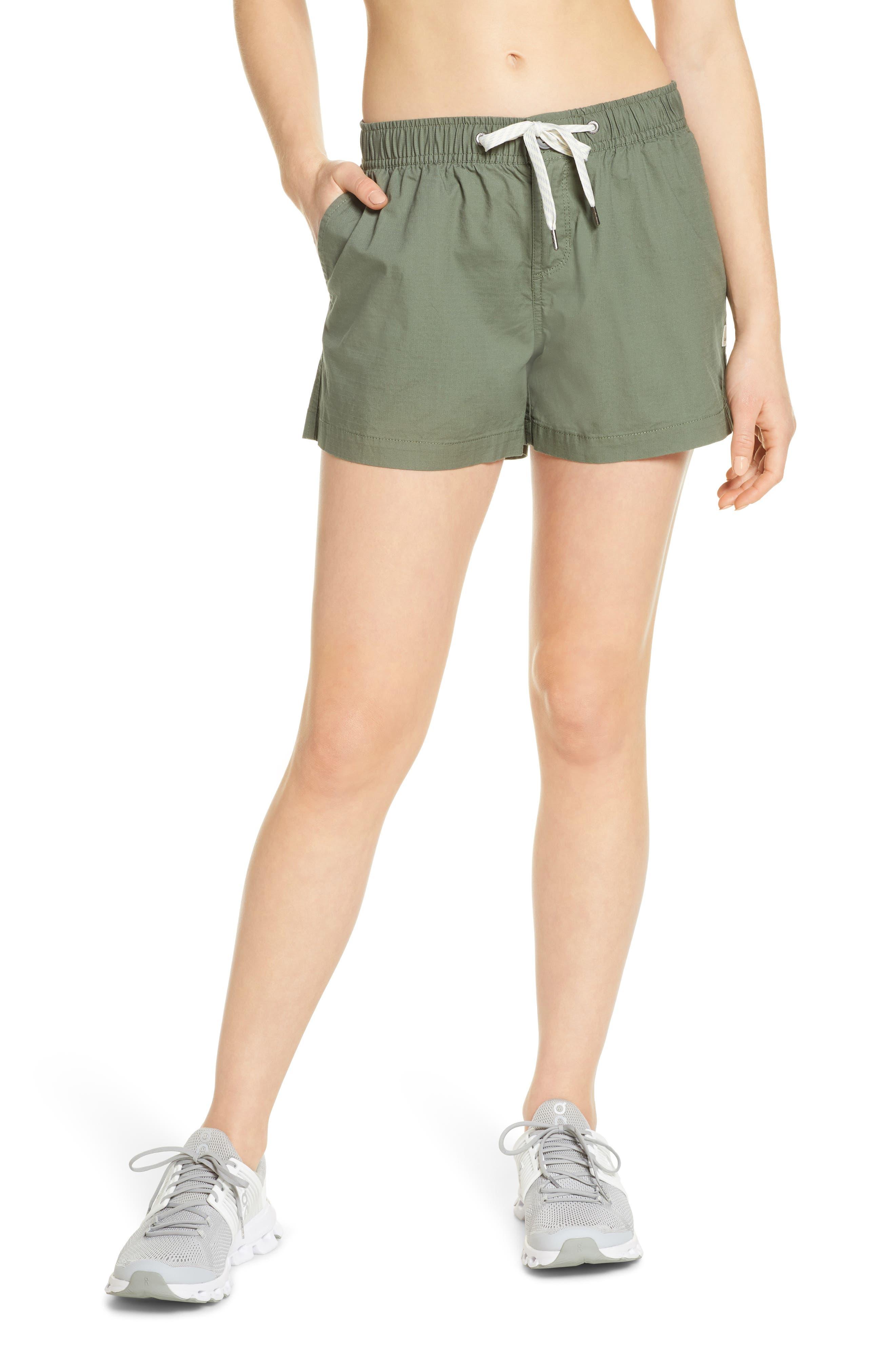Women's Vuori Ripstop Shorts,  Small - Green