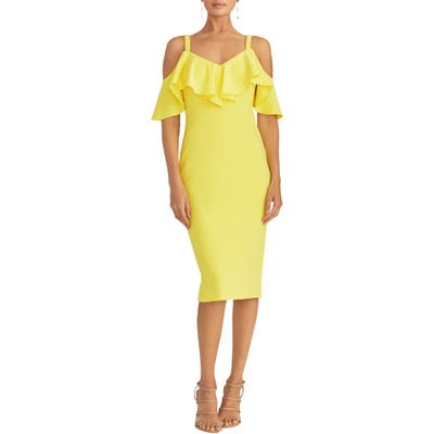 Rachel Rachel Roy Marcella Sheath Dress, Yellow