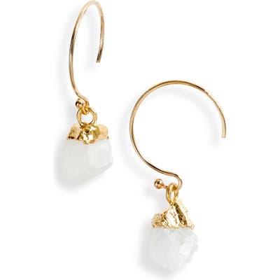 Mend Moonstone Drop Earrings