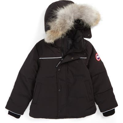 Canada Goose Snowy Owl Down Parka With Genuine Coyote Fur Trim