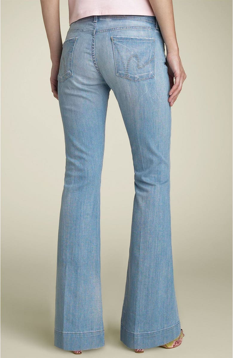well known well known buying cheap Citizens of Humanity 'Crystal' Bell Bottom Stretch Jeans ...