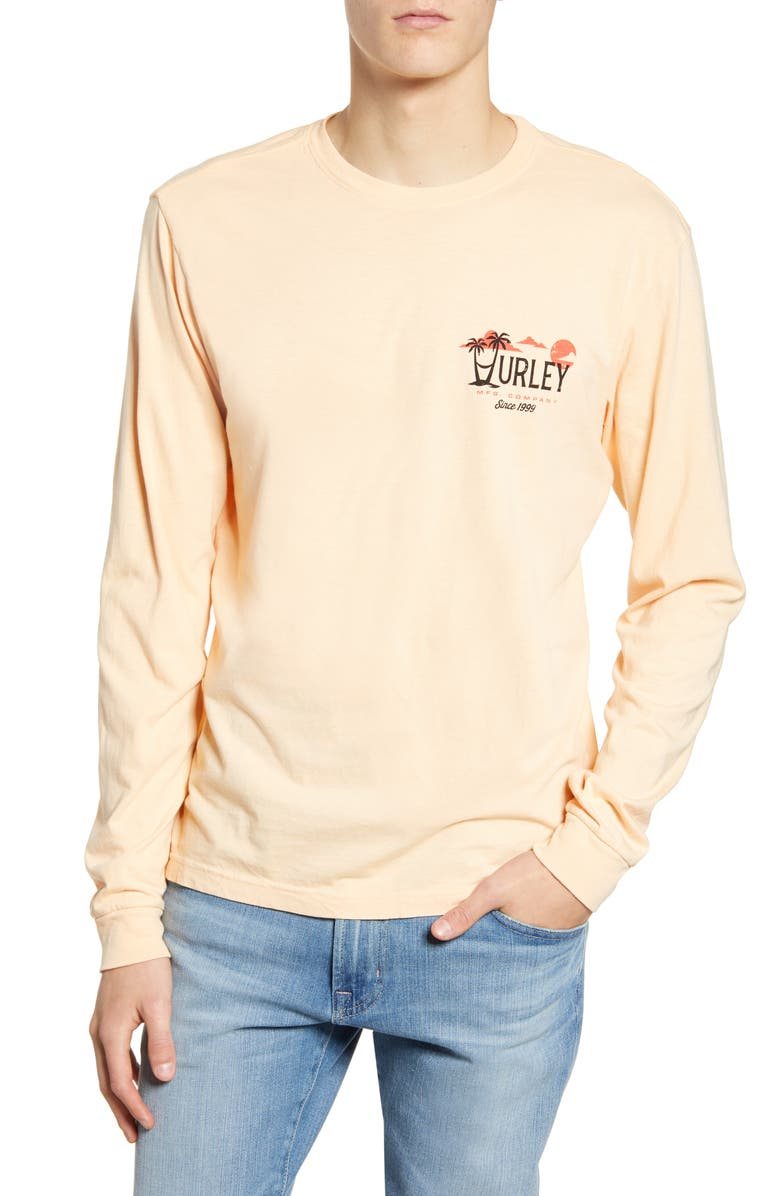 HURLEY Mirari Graphic Long Sleeve T-Shirt, Main, color, 650