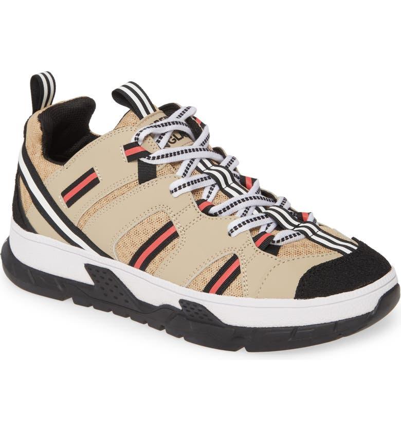 BURBERRY Union Sneaker, Main, color, ARCHIVE BEIGE