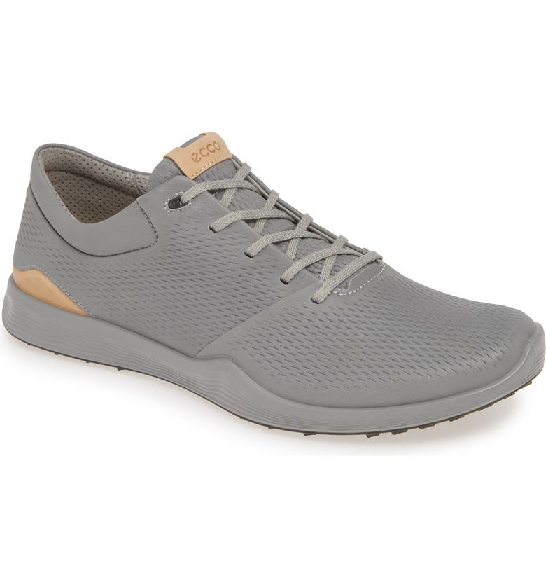 ECCO S-Lite Golf Sneaker, Main, color, WILD DOVE LEATHER