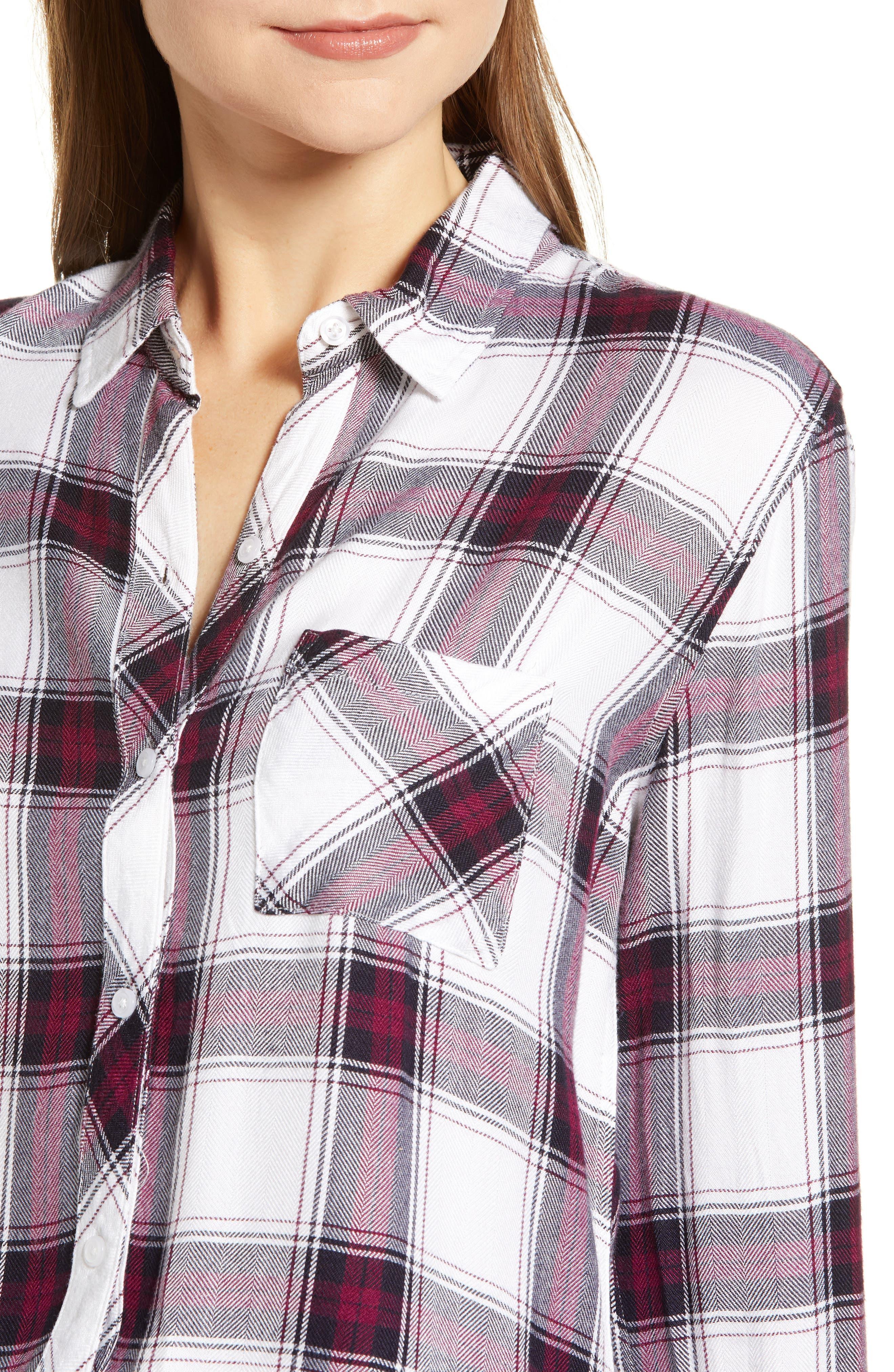 ,                             Hunter Plaid Shirt,                             Alternate thumbnail 409, color,                             502