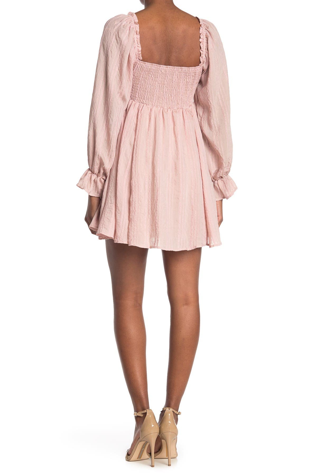 Image of A.Calin Solid Mini Dress