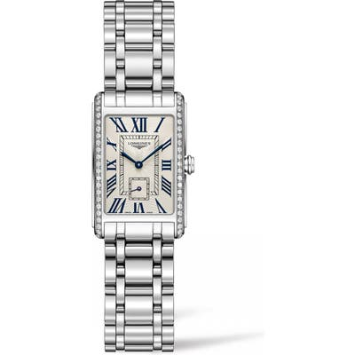 Longines Dolcevita Diamond Bracelet Watch, 20.5Mm Mm