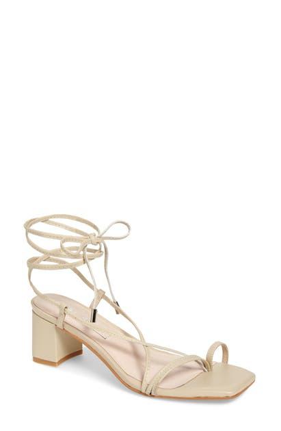 Sol Sana Sonia Strappy Sandal In Birch Leather