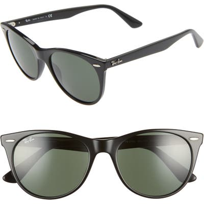 Ray-Ban Wayfarer Ii 55Mm Sunglasses - Black