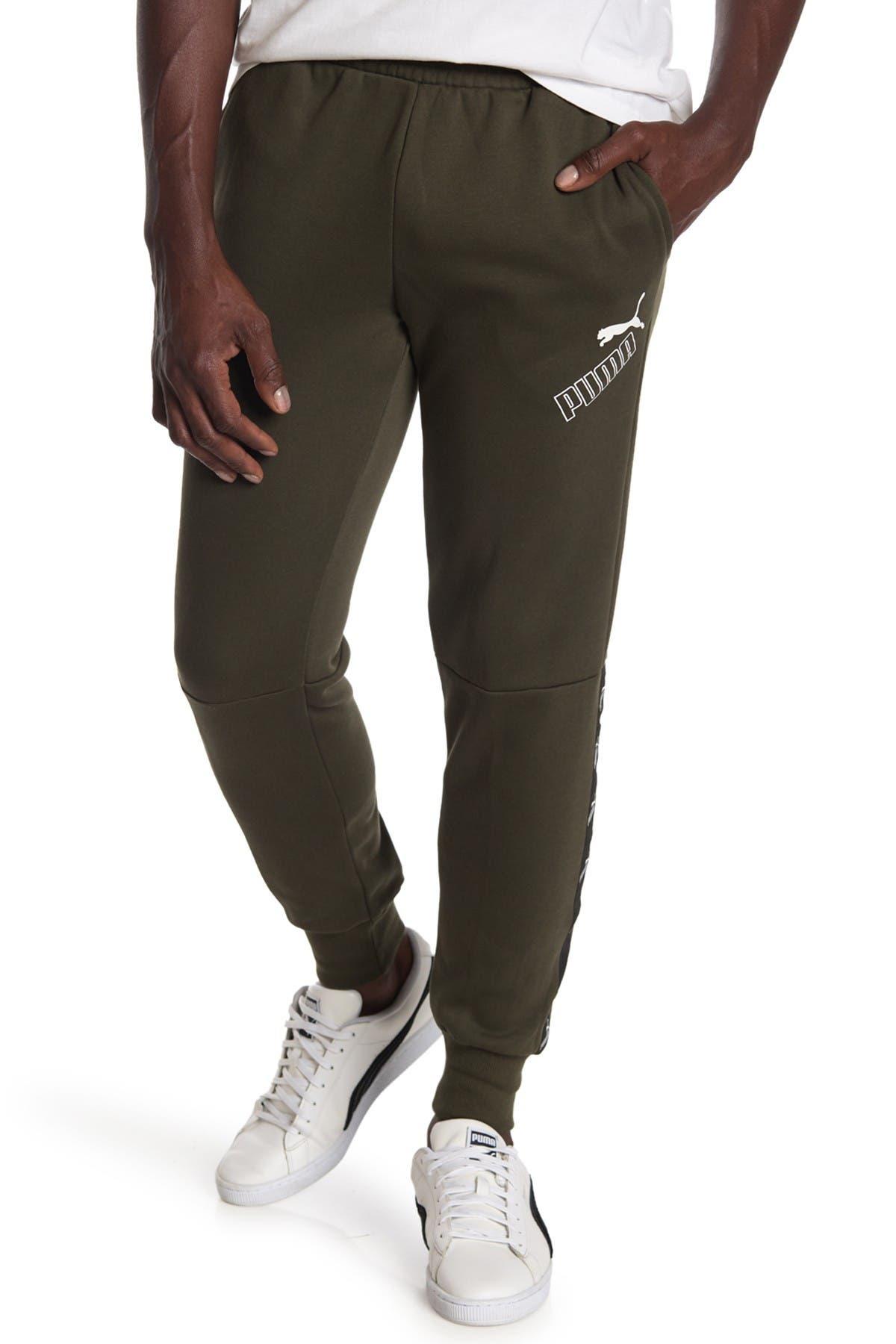 Image of PUMA Amplified Fleece Pants