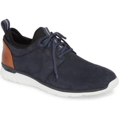Johnston & Murphy Prentiss Xc4 Waterproof Low Top Sneaker, Blue