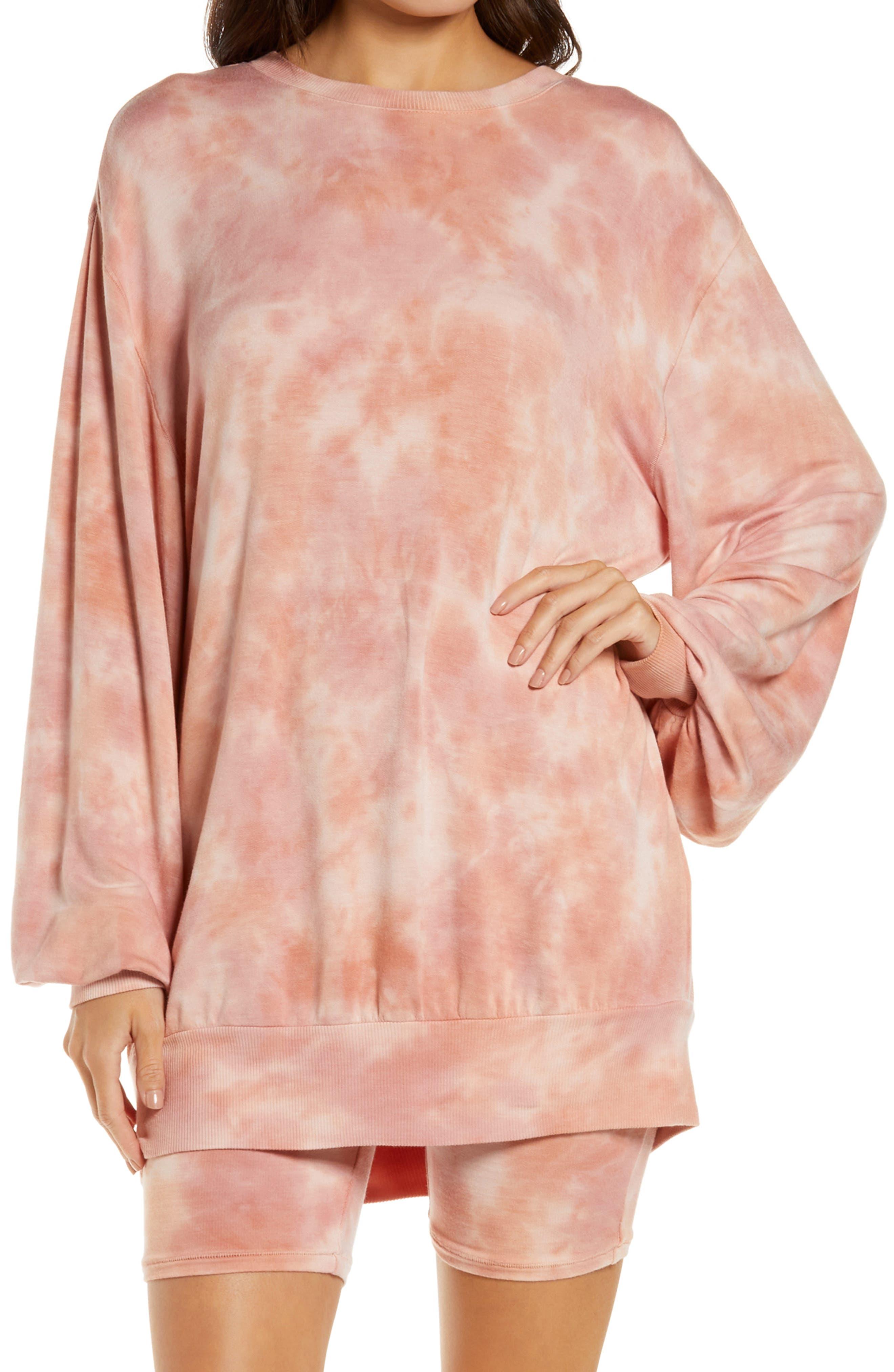 Women's Honeydew Daze Off Tie Dye Sweatshirt