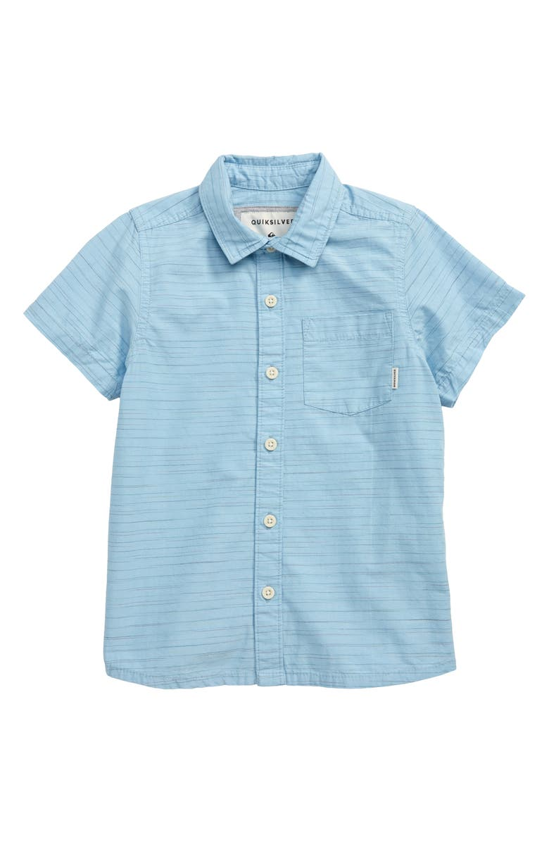 Quiksilver Coober Croc Woven Shirt Big Boys