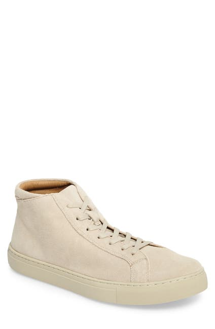 Image of Kenneth Cole Reaction Design Suede Hi-Top Sneaker
