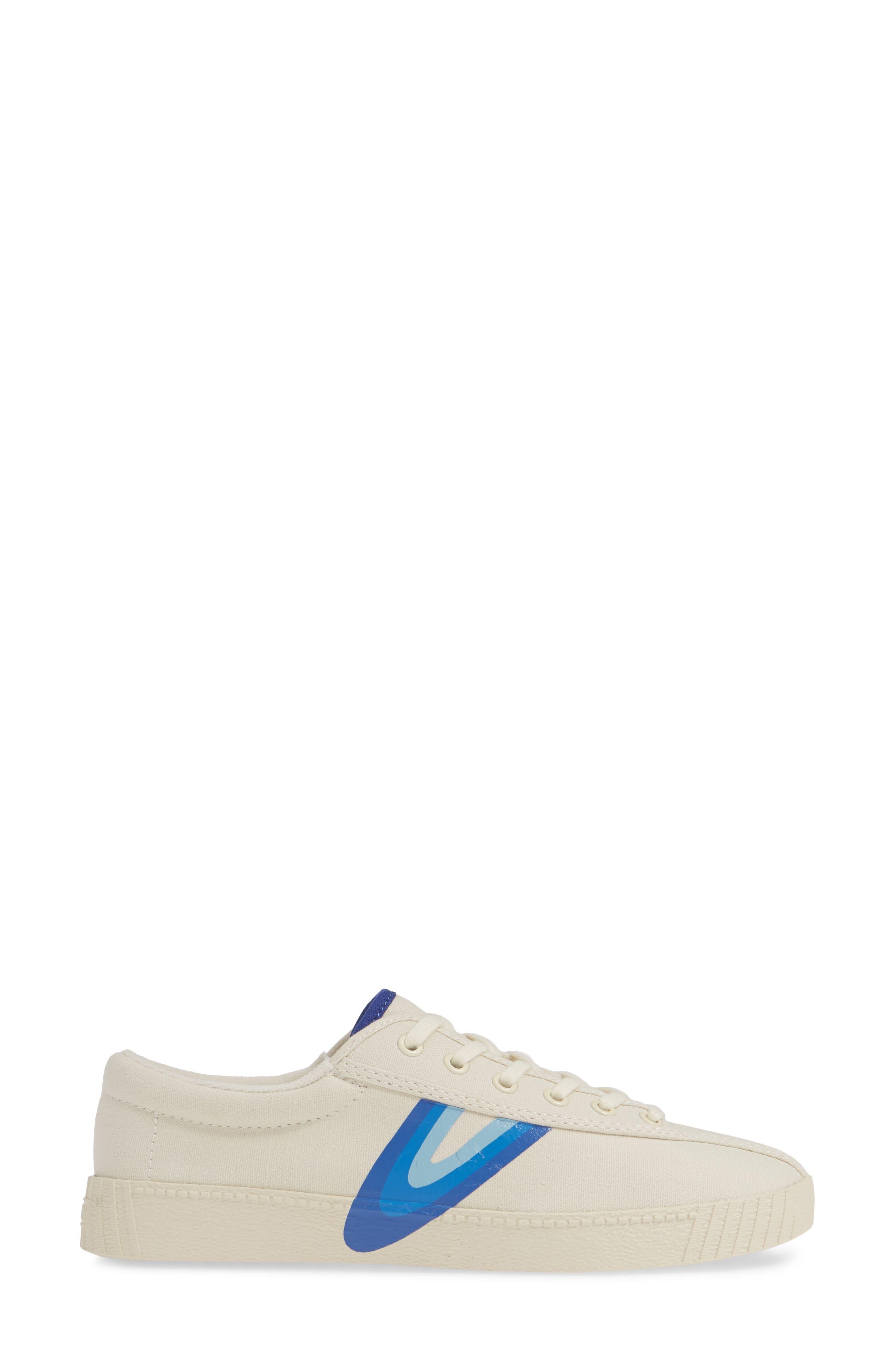 ,                             Nylite Sneaker,                             Alternate thumbnail 3, color,                             CREAM/ BLUE VIOLET
