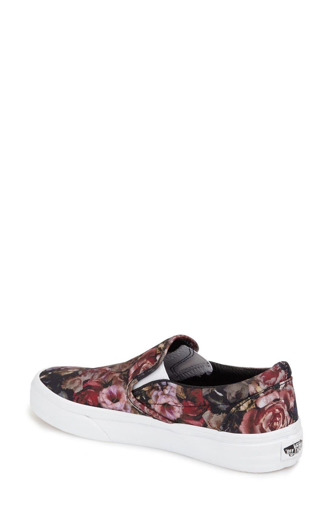 ,                             Classic Slip-On Sneaker,                             Alternate thumbnail 252, color,                             004