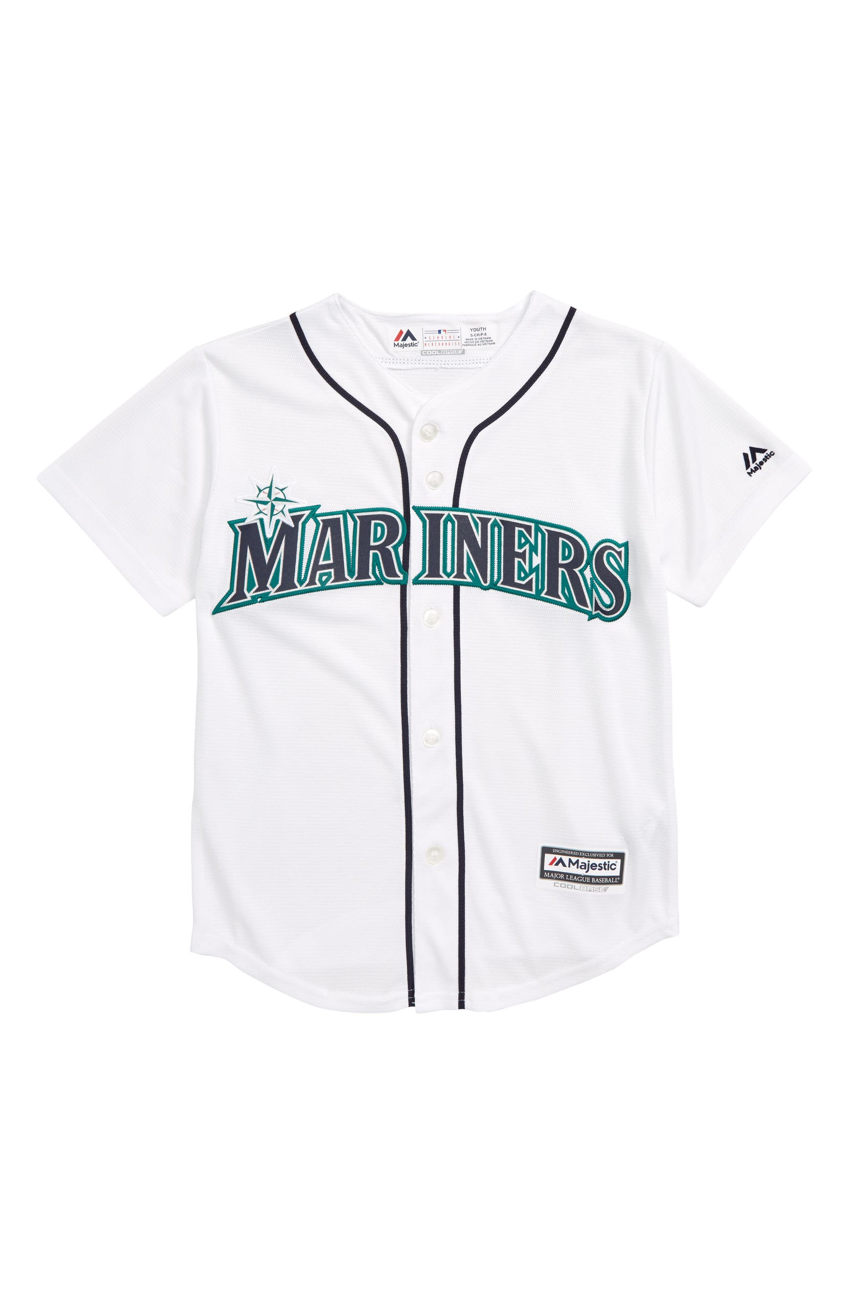 the latest cefd5 646a8 Majestic MLB Seattle Mariners Replica Baseball Jersey (Big ...