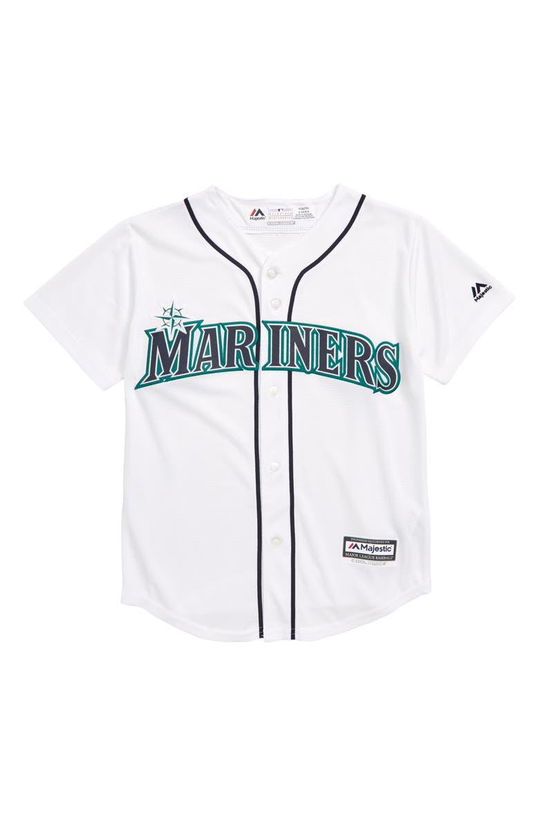 70c3b205 Majestic MLB Seattle Mariners Replica Baseball Jersey (Big Boys ...
