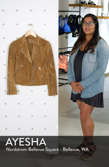 No Limit Suede Moto Jacket, sales video thumbnail